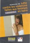 Violences conjugales, Conseil général de l'Isère, Brigitte Périllié,