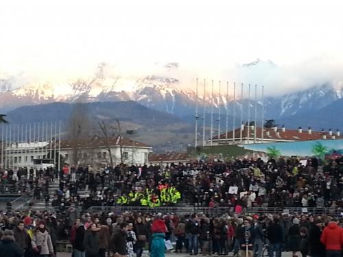 la marche républicaine, je suis Charlie, Grenoble